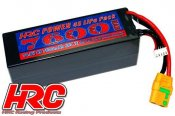 Battery - LiPo 4S - 14.8V 7600mAh 65C/110C - Hard Case - XT90AS 48x47x138mm