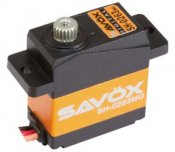 Savox Servo SH-0263MG digital micro size 0.1 speed/2.2kg. Metal