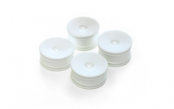 GT14B - White Wheel Set (4)