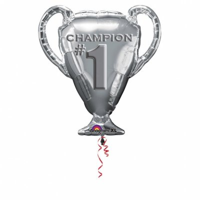 Folieballong - Champion # 1 Trophy Shape