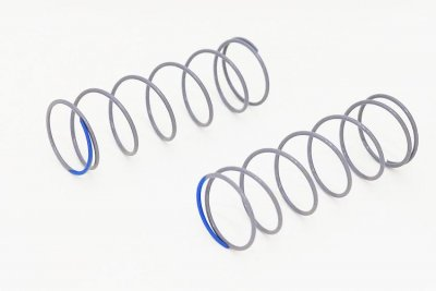 Front shock spring Grey/Blue Soft (2)