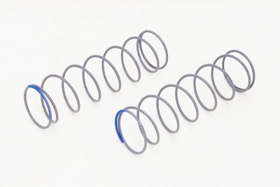 Rear shock spring Grey/Blue Soft (2)