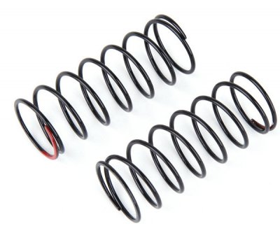Front spring Black/hard red dot